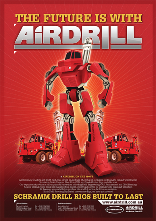 Airdrill Advertising Campaigns