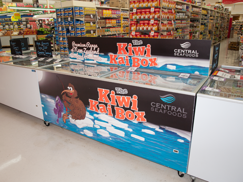 Central Seafood Solutions Fridge