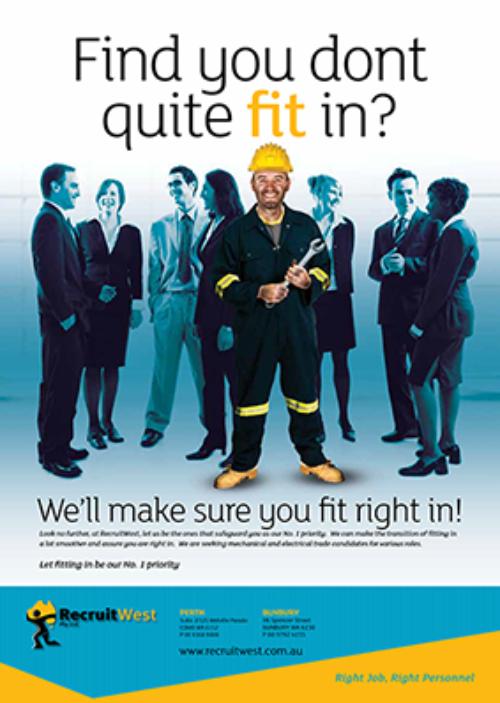 Recruitwest Recruitment Campaign