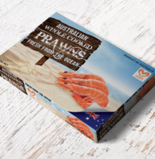 WA Seafoods Raw & Cooked Packaging